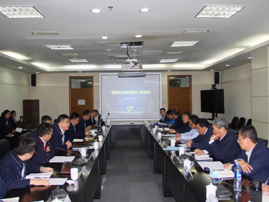 亚博信誉体彩工业科技委副主任陈灌军一行来公司调研