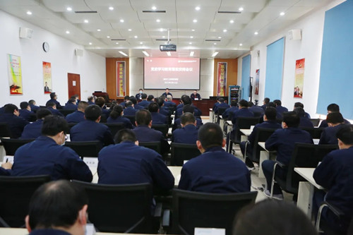 公司召开党史学习教育落实安排会议