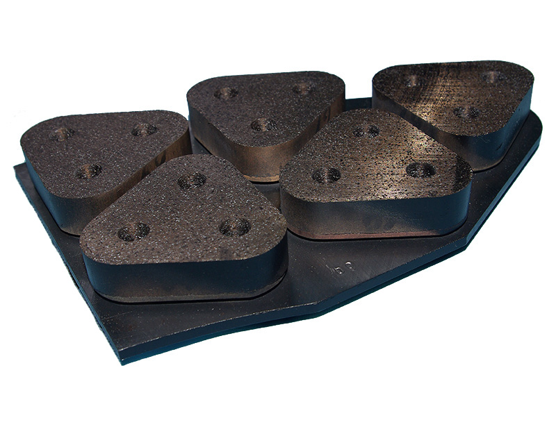 粉末冶金闸瓦制备